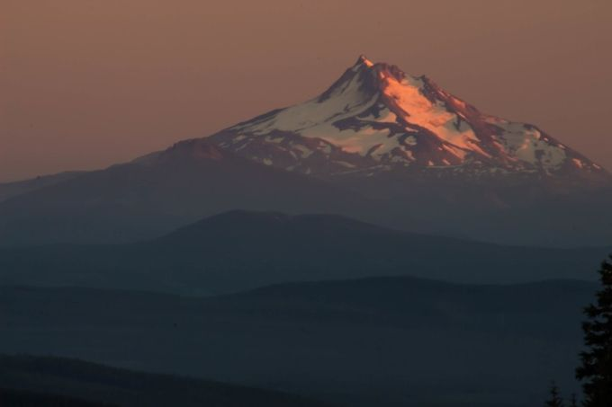 Sunset at Mt. Hood (1 of 1)