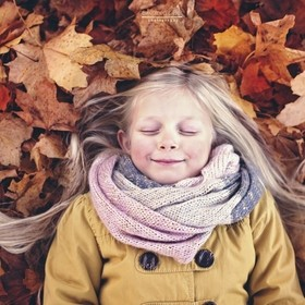 Sinking into a giant pile of crunchy leaves is surly pure joy?