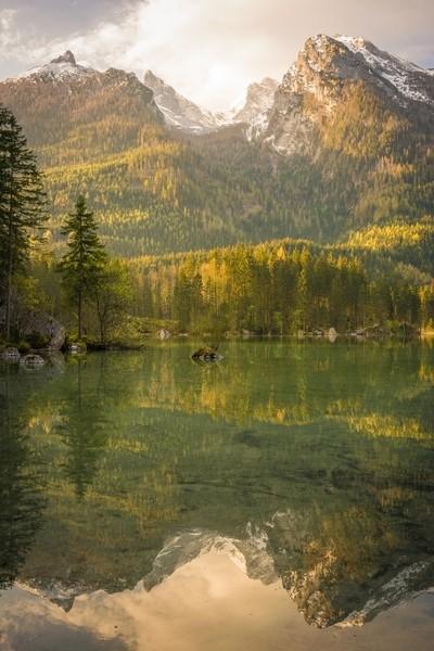 Alpine Morning Sun