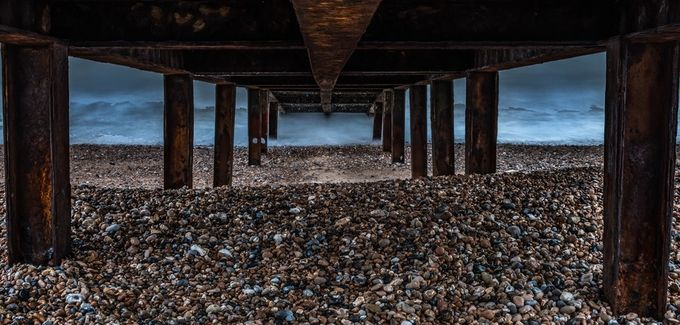Sandwich Bay Jetty by MartinWallace_Photography - Geometry And Architecture Photo Contest