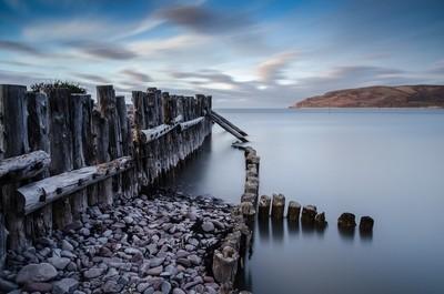 Porlock Weir at High Tide