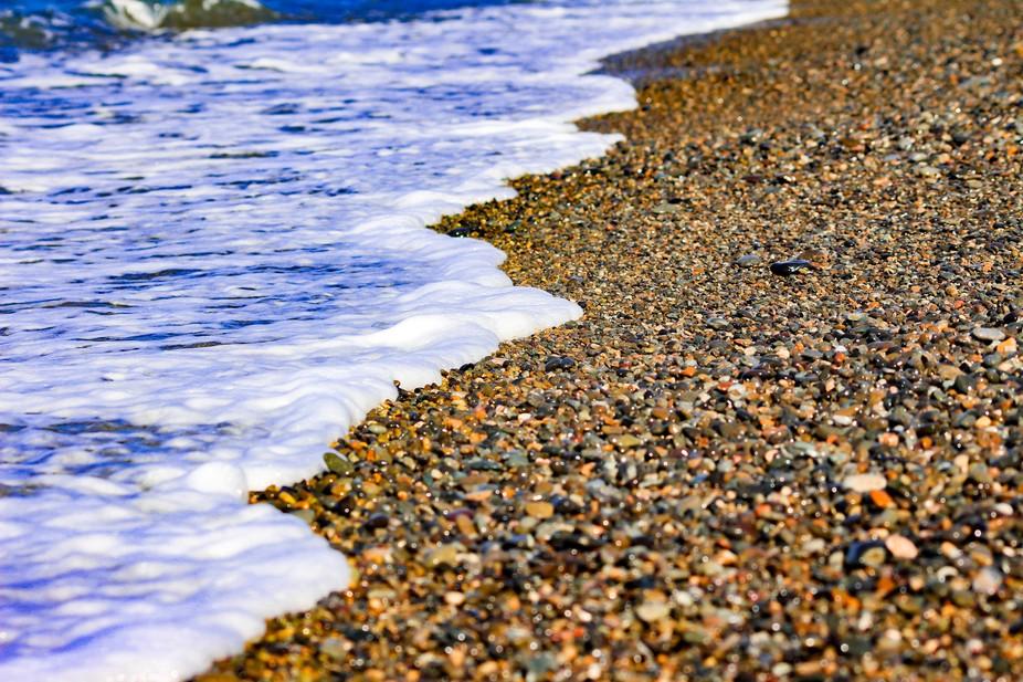 Summer Beach in Yamaguchi Japan