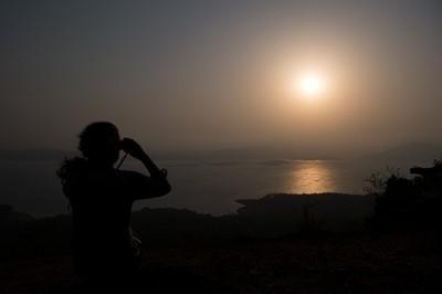 Sunset at Ganeshgudi
