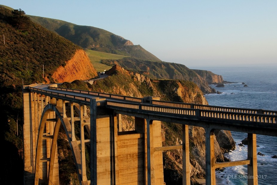 Driving California Highway 1 north, back to Monterey on March 29, 2016, we spotted a group of pho...