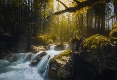 Zauberwald waterfall