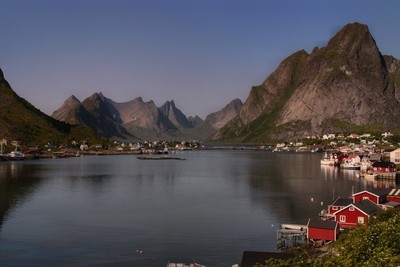 Fishing village, Reine, Lofoten, north of Norway