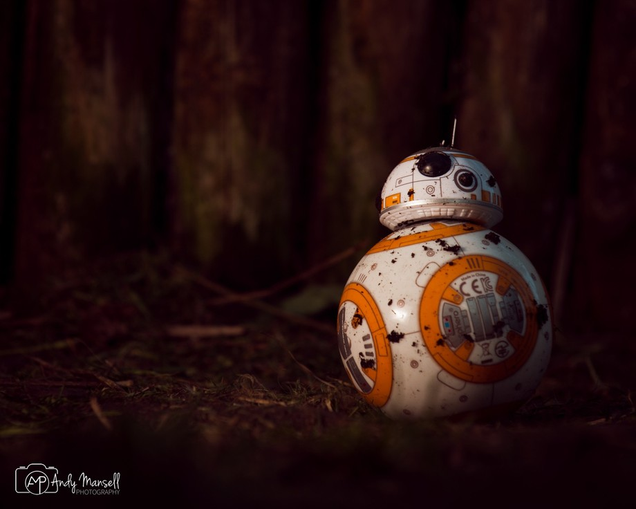 A bit of off camera fun with BB8