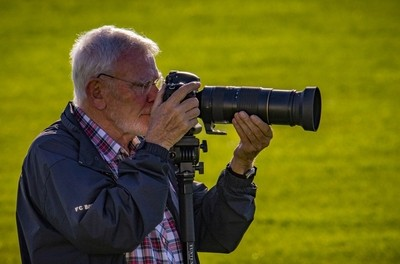 The sports photographer