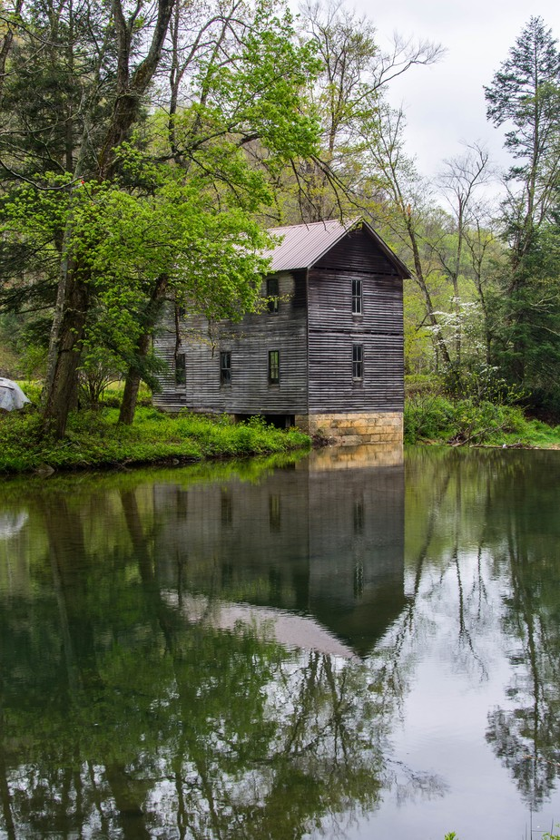 Old Mill by michealj - Isolated Cabins Photo Contest