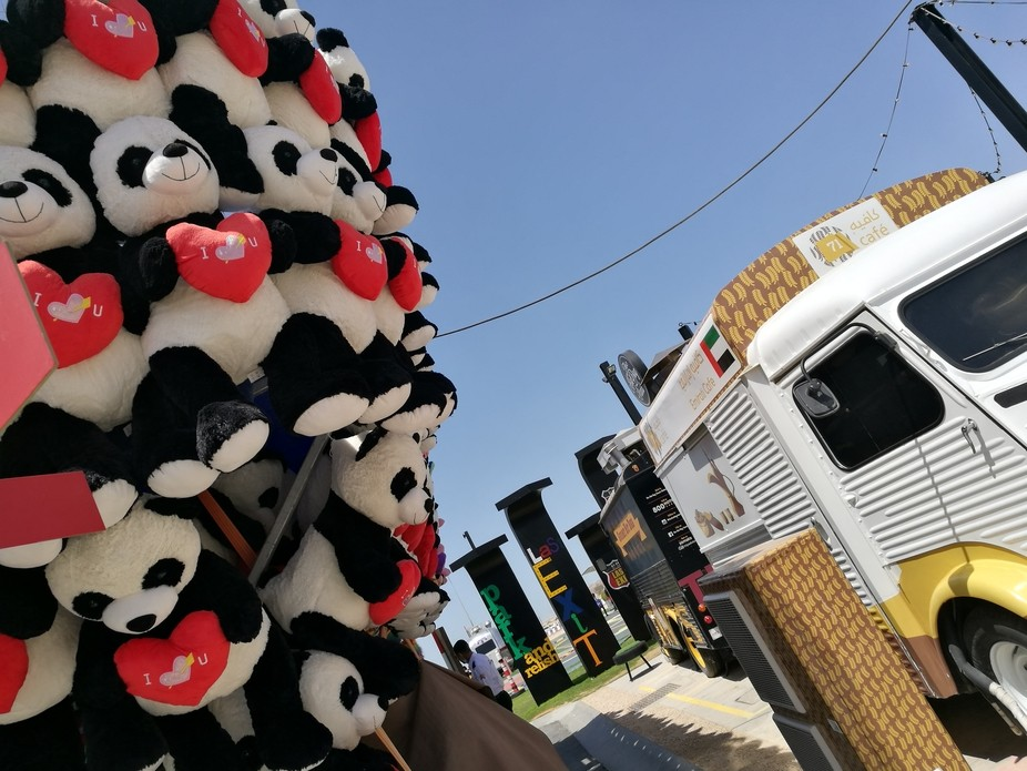 The last exit food trucks in Abu Dhabi. A must for any foodies.