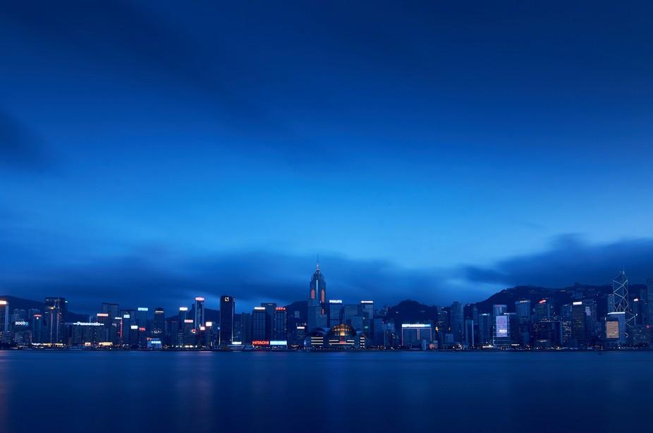 HK at sunset