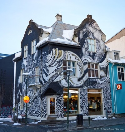 Icelandic street and house art