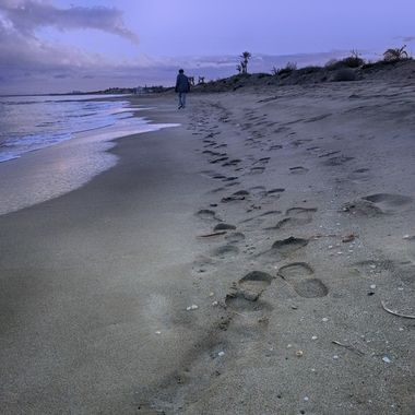 I took this photo when me and my wife were walking on the beach, in the year 2013.