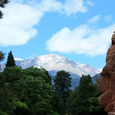 Pike's Peak and Garden of the Gods, CO