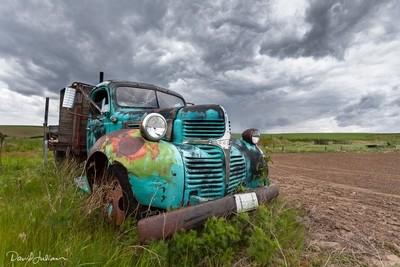 Dan's Rusty Truck in Color