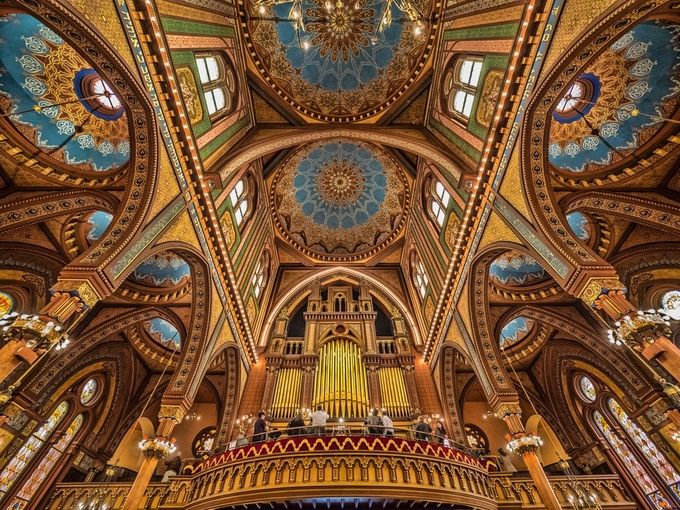 Isaac M. Wise Temple Cincinnati Ohio by beckykempf - High Ceilings Photo Contest