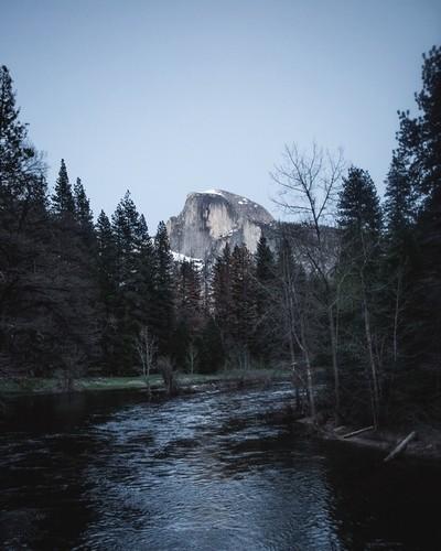 Blue hour in Yosemite