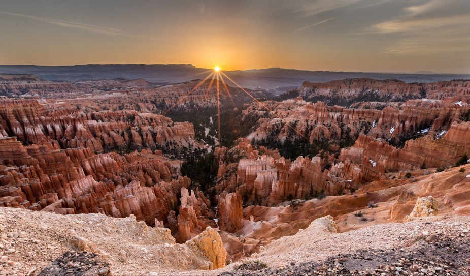 1st light on Hoodoos