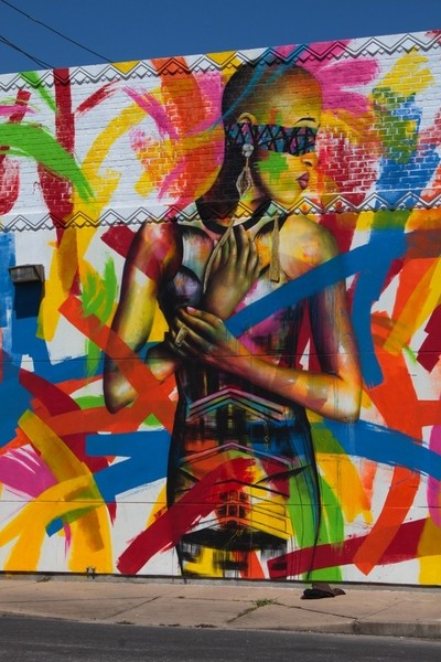 Street Art in Houston, Texas USA