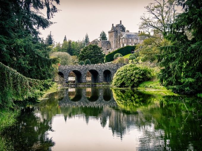 Drummond Castle by f68photography - Lakes And Reflections Photo Contest