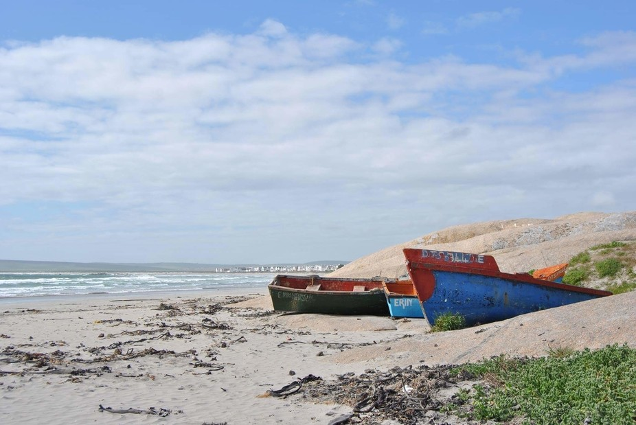I took this photo while we were on honeymoon in Paternoster, South Africa. It is the most amazing...