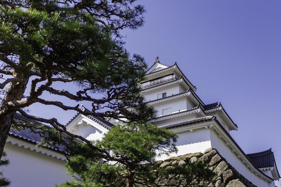 Tsurugajo Castle in Aizu, Wakamatsu, Japan