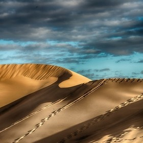 """The Big Dune"": The people there called it in this way. Located less than 100 km west of Las Vegas (Nevada) and not so easy to get to. ..."