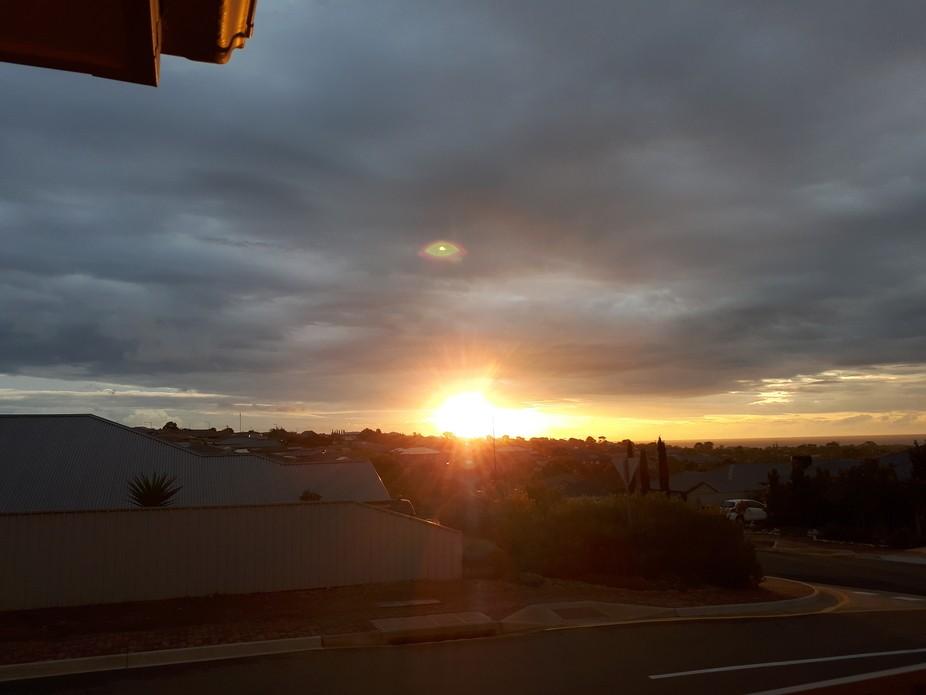 Sunset at Moana  taken with D3200  nikon 55....300lens