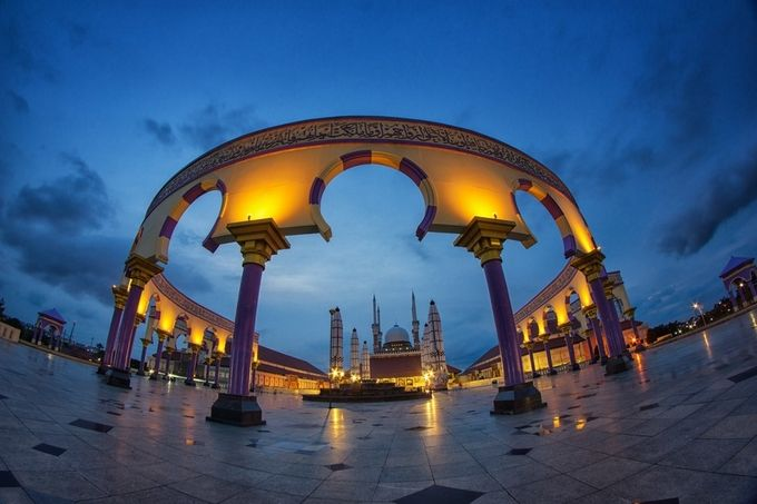 Great Mosque of Central Java by dediwahyudi - The Blue Hour Photo Contest
