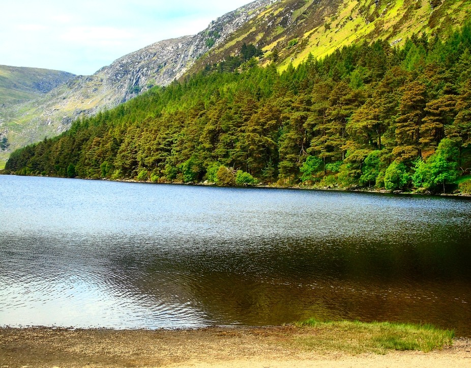 One of the lakes in glendalough