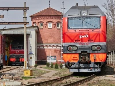 "railway car depot ""Moscow-passenger"" with a repair shop."