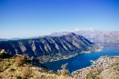 The view above Kotor