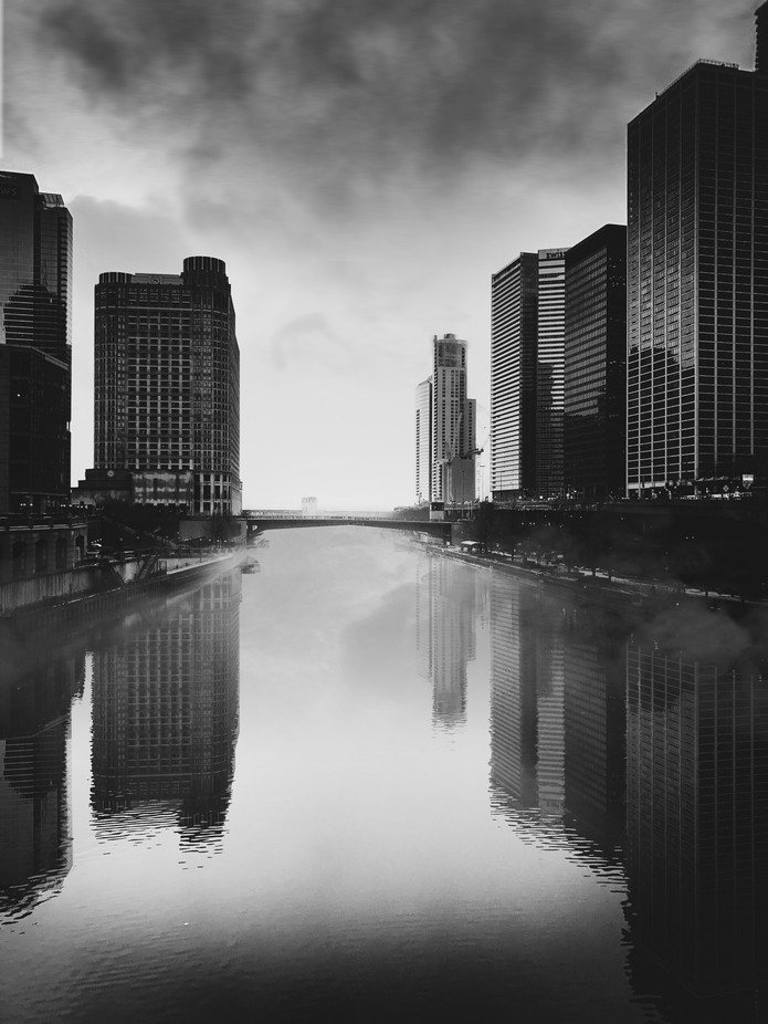 Light at the End of the River by suezyg2345 - I Love My City Photo Contest