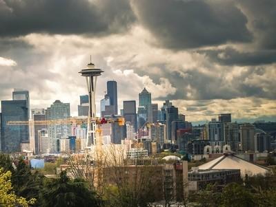 Seattle Cloudy sky
