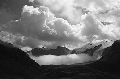 Karegetash Pass in Teskey Ala-Too, Tian-Shan, Kyrgyzstan, August 2016