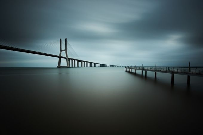 smooth gray by josejfferreira - Spectacular Bridges Photo Contest