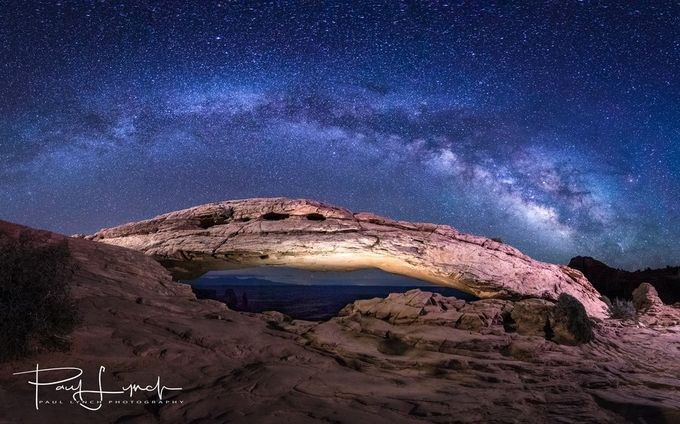 Mesa Arch Milky Way by WorldPix - The Milky Way Photo Contest