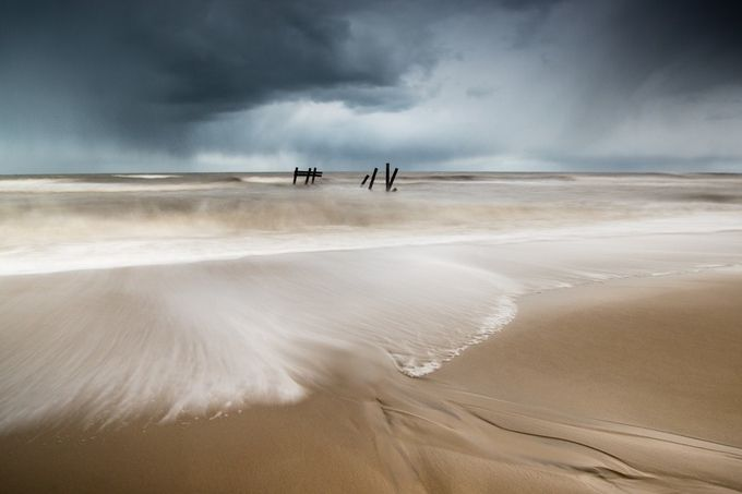 Happisburgh by stevehardiman - Landscapes And Sand Photo Contest