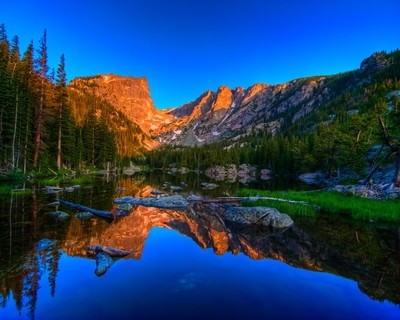 Dream Lake at Sunrise
