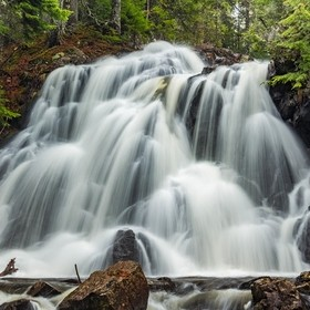 During the spring thaw and rains is a great time to waterfalls at their best.