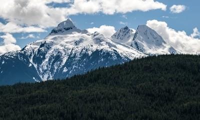 Mount Omega, Mount Niobe and Mount Pelops