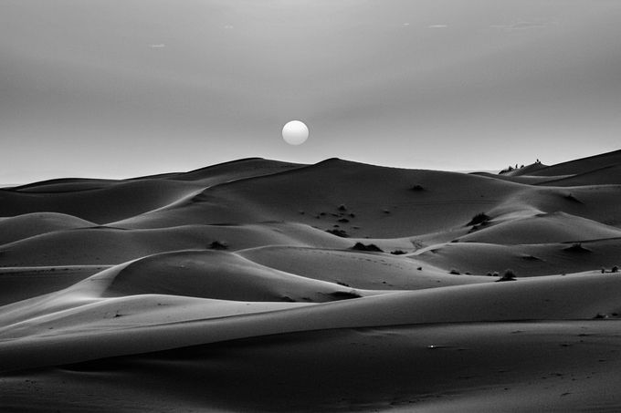 Sahara dream by begoama - Black And White Landscapes Photo Contest