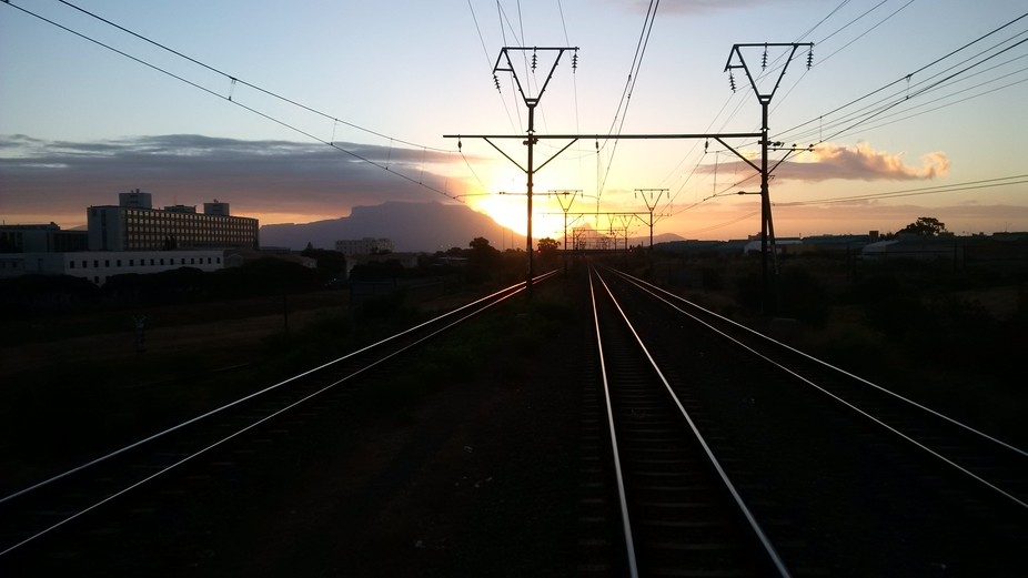 I Always get the amazing sunsets during work hours. #CapeTownSouthAfrica.