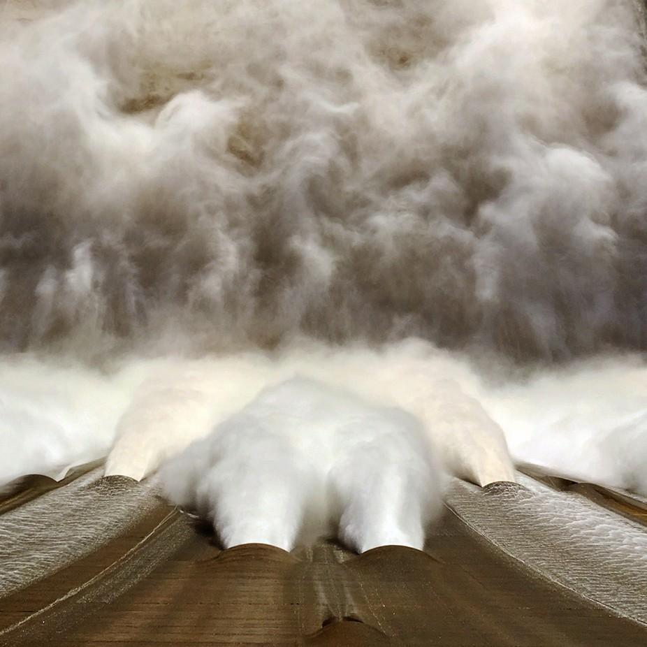 Shasta Dam Release by Badskwrl - Stunning POV Photo Contest