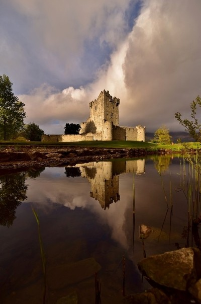 Reflections at the Castle