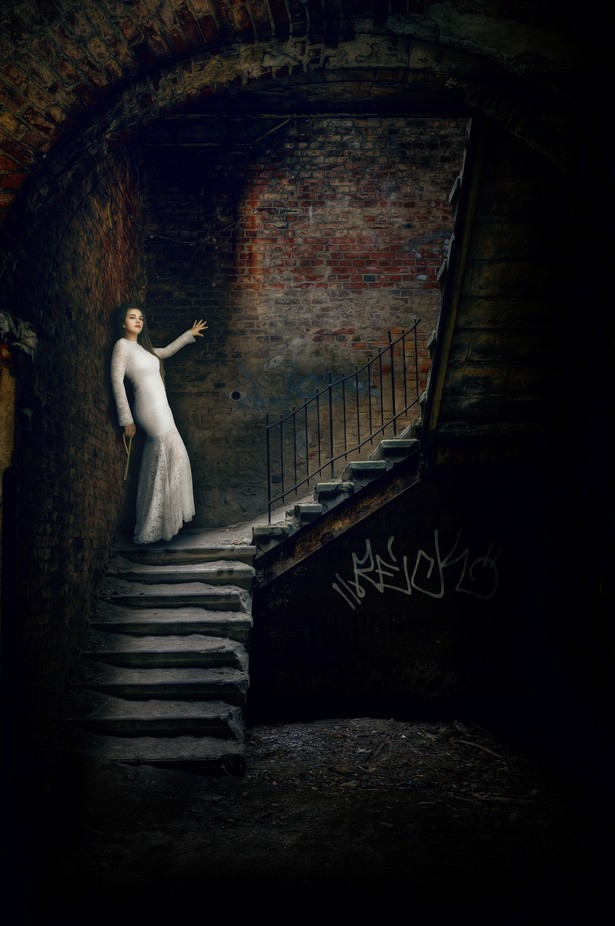 Deep Down Beauty Standing by Fotoart_Nicolas_Carbenay - Stairways Photo Contest