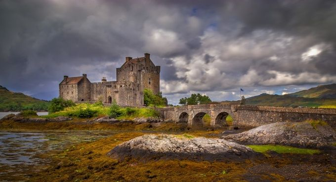 Eilean Donan Castle Scotland by RalfvonSamson - Enchanted Castles Photo Contest