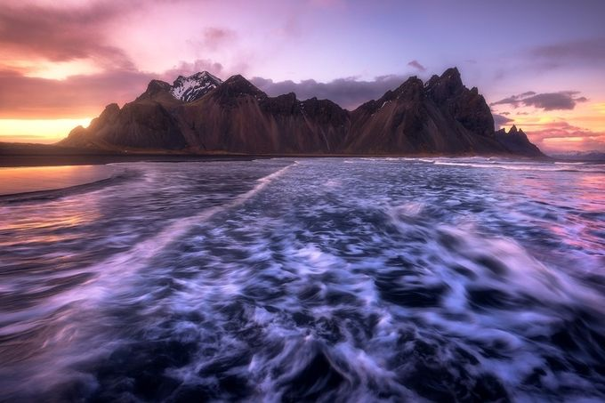The Coast Of Stokksnes by Daniel-Photography - Showing Movement Photo Contest