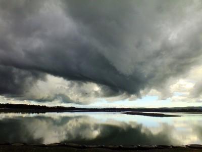 Storm Clouds over Ahuriri.