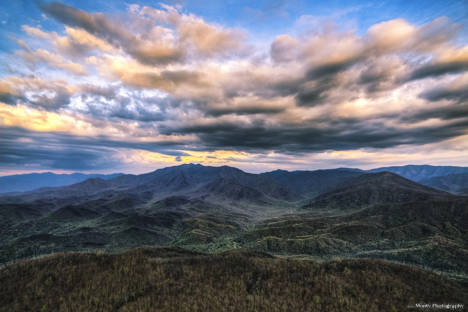 I flew my DJI Phantom 3 Professional drone up above the Smokies and captured this amazing aerial ...